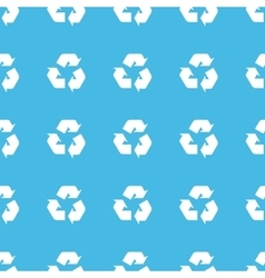 Recycle straight pattern vector