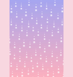 Sparkling dot line falling abstract background vector