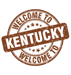 Welcome to kentucky vector