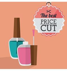Makeup design vector image vector image