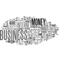 a defrazzled home business text word cloud concept vector image