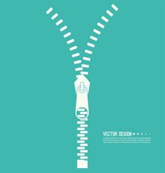 set of zip vector image