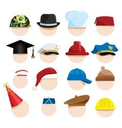 Hats vector image