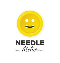 Atelier logo concept vector