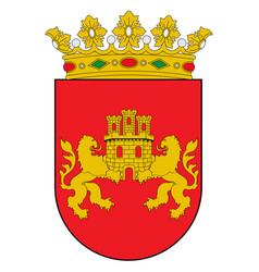 Coat arms cuadrilla de zuia in basque vector