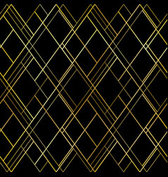dark luxury seamless pattern background vector image