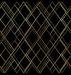 dark luxury seamless pattern background vector image