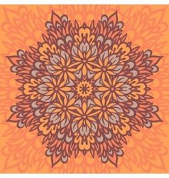 Flower Mandala Abstract background vector image vector image