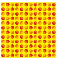 pattern circles vector image