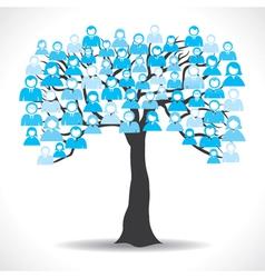 Social media tree vector