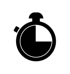 timer or chronometer tool icon icon simple vector image