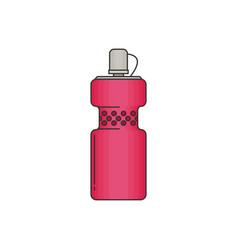 Bottle water modern flat icon vector