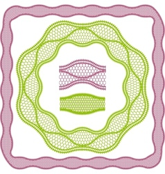Vintage lace elegant frames template for you vector image vector image