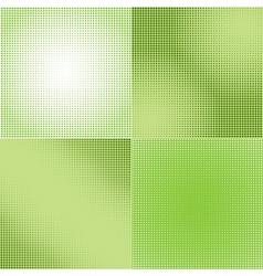 Halftone Screen Gradation vector image vector image