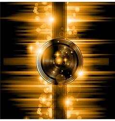 The Art of Disco Flyer - Stunning Speakers vector image vector image