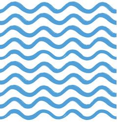 Abstract wave seamless pattern stylish geometric vector