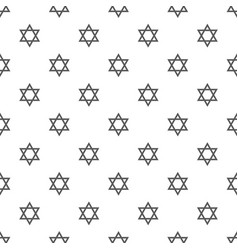 David star pattern seamless vector