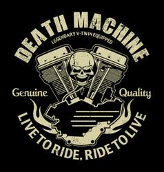 Death machine vector