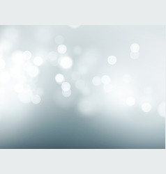 gray sky with lens flare and bokeh pattern vector image