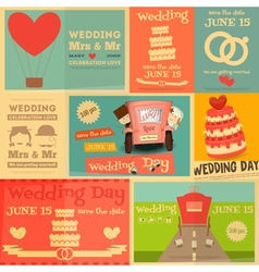 wedding vector image