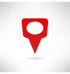 Map marker icon made in modern flat design vector image