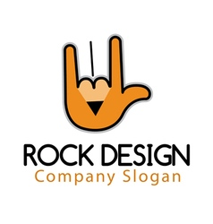 Rock Design vector image