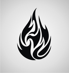 Tribal Fire vector image