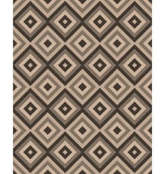 Beige brown square seamless pattern vector image