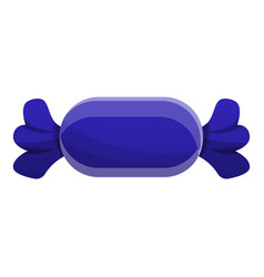 Blue bonbon icon cartoon style vector