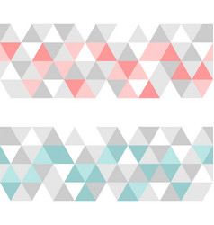 colorful tile background or pattern vector image