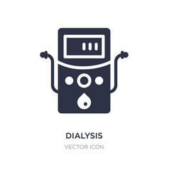 Dialysis icon on white background simple element vector