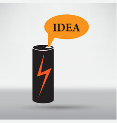Energy drink icon vector