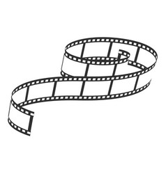 film reel icon video and entertainment symbol vector image