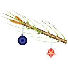 Fur tree vector image