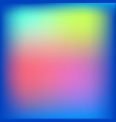 light multicolored blurred background vector image