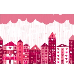 Love city vector