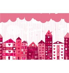 love city vector image