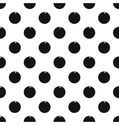 Orange pattern simple style vector