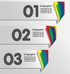 Paper Color tab vector
