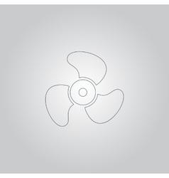 propeller icon - vector image