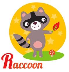 RaccoonL vector image