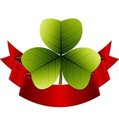 Trefoil clover vector