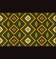 Kente cloth african textile ethnic seamless vector