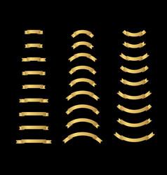 luxury golden premium label quality collection vector image