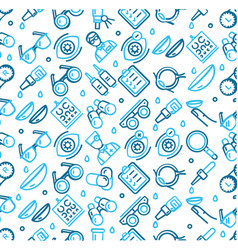 optical signs seamless pattern background on a vector image