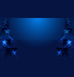 Star background concep for independence day vector