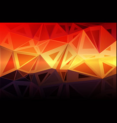 Purple orange yellow red brown random sizes low vector
