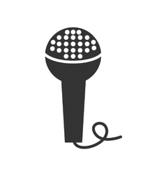 icon microphone vector image vector image