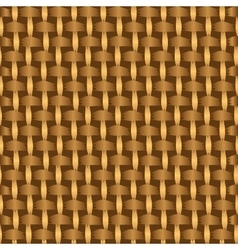 Abstract decorative wooden striped textured basket vector