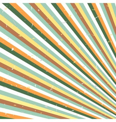 Abstract retro lines vector image